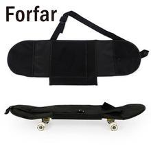 Черная сумка для переноски скейтборд рюкзак для взрослых скейтборд палуба рюкзак открытый рюкзак Практичный Прочный