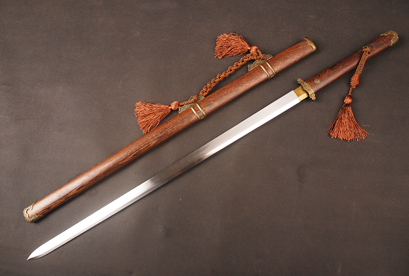 Chinese Tang Dynasty High Carbon Steel Double Edge Sword 1