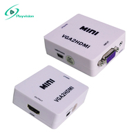 high performance vga to hdmi converter support 3d HD 1080p