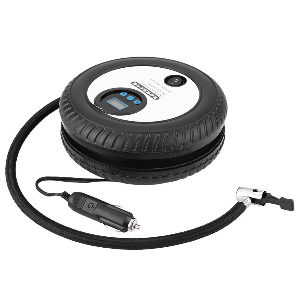 Heimwerker Pumpen, Teile Und Zubehör 12 V Digitale Tragbare Auto Fahrrad Reifen Inflator Pumpe Luft Kompressor 260psi Für Auto Ball Bike Air Boot Hohe Qualität