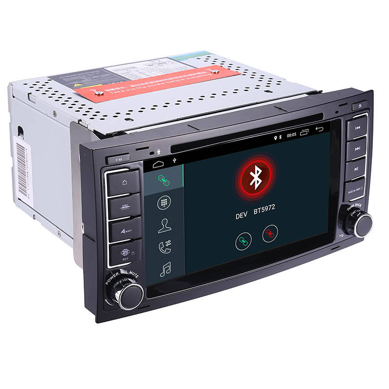 "Image 4 - 7""HD IPS Touch Screen Android 9.0 Car DVD Player for Volkswagen VW Touareg T5 Transporter Multivan 2004 2011 Radio audio stereo-in Car Multimedia Player from Automobiles & Motorcycles"