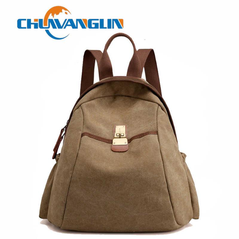 6089a1827e7e Chuwanglin простой рюкзак женская мода школьные ранцы повседневные стильные  рюкзаки; в винтажном стиле; женские
