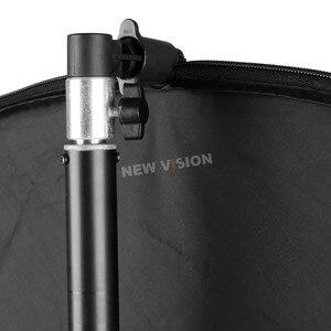 Image 3 - ホルダーブラケットスイベルヘッドリフレクターディスクアームサポート/写真動画写真スタジオリフレクターディスクホルダークリップ用ライト