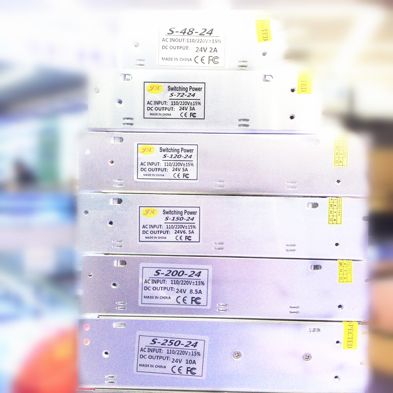 Tiras de Led w Modelo Número : Switching Power Supply