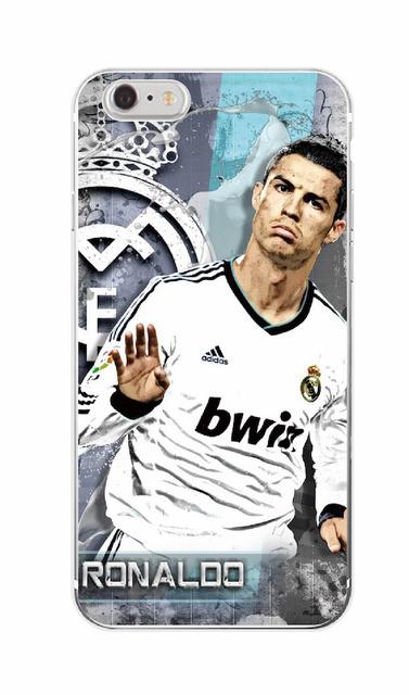 Madrid Cristiano Ronaldo CR7 Phone Case For iPhone 7Plus 7 6 6S 5 5S SE 5C 4 4S