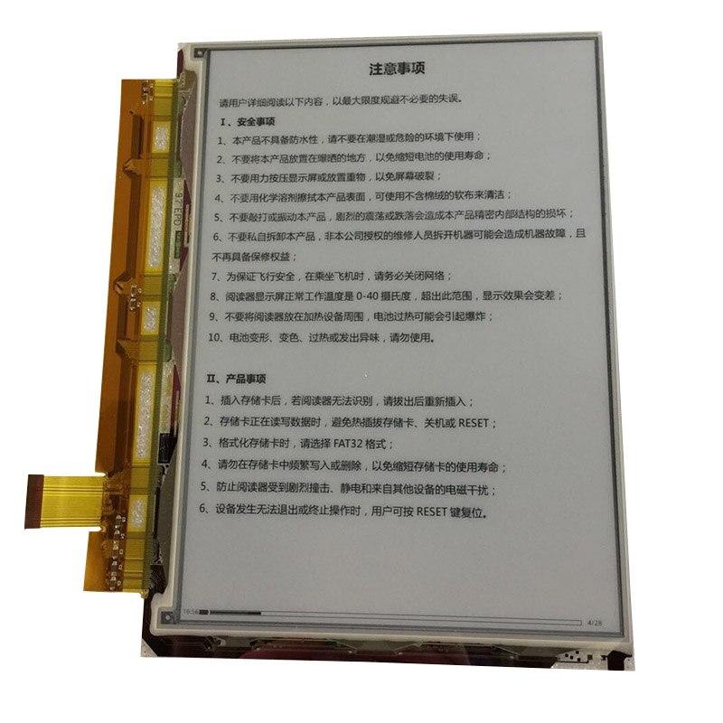 Бесплатная доставка в Исходном 9.7 inch ED097OC4 (CF) ED0970C4 (CF) E-ink для Amazon DXG Reader Daily Edition Цифровой E-ink ЖК-экран
