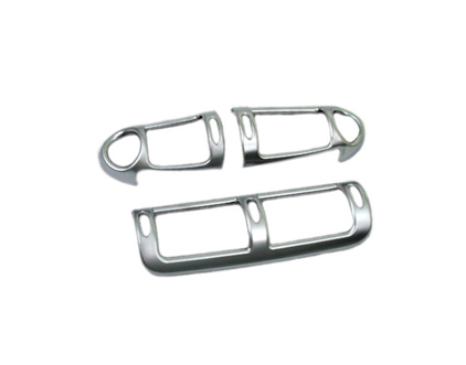 Styling A Set of Matt Chrome Dash Air Vent Covers Kit Brand New for 00 03 Mercedes Benz W203 C Class pre facelifted Durable