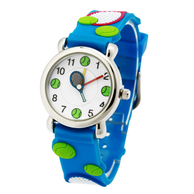 High Quality Fashion Casual children Watch Waterproof Quartz Watch tennis boy an