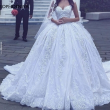 Sophoeniya Ball gown wedding dresses Gelinlik bride dress