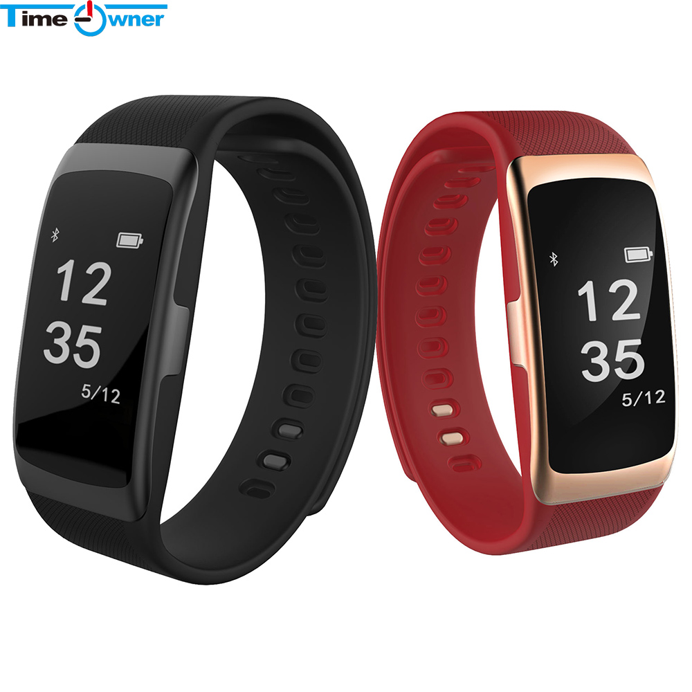 Time Owner S68 Smart Band Heart Rate Pulse Blood Pressure