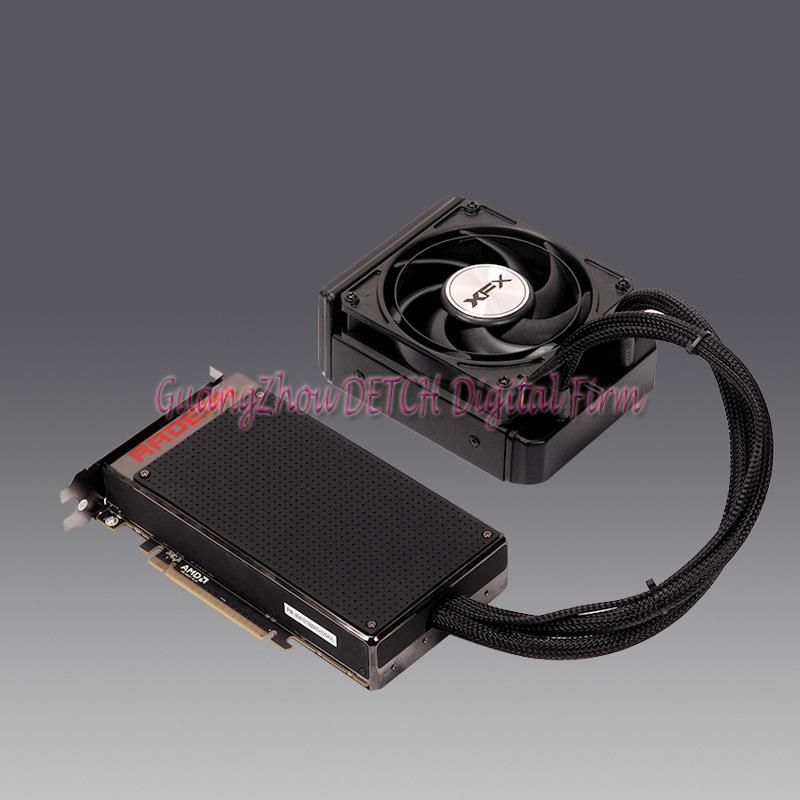 R9 Fury X 4G 4096Bit HBM 4K flagship graphics card cooling Quiet