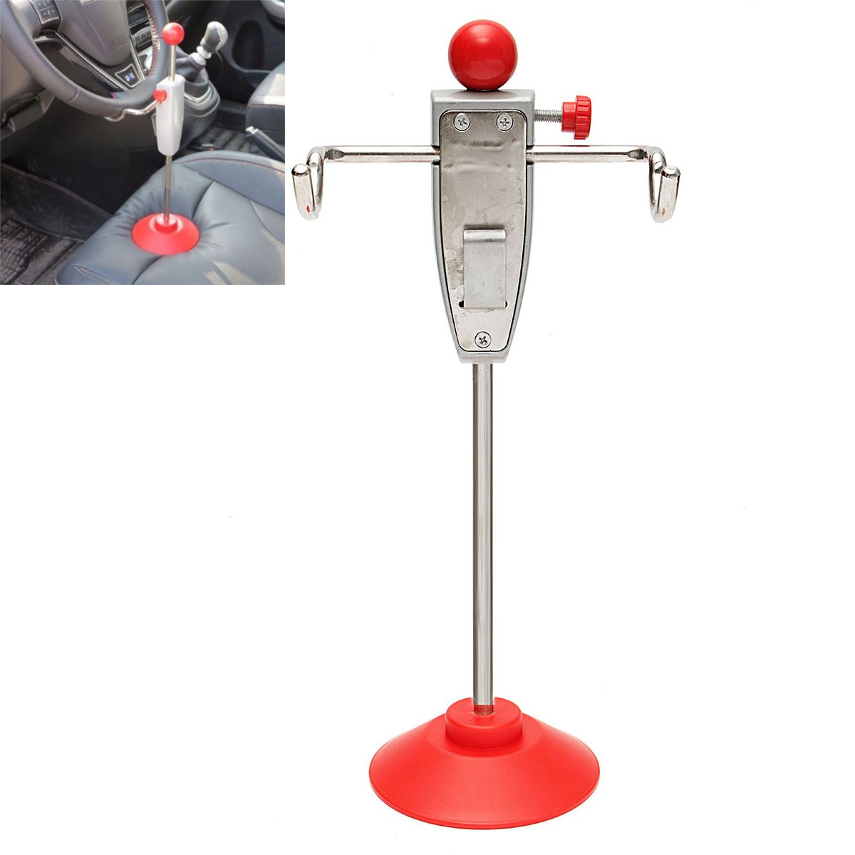 14.5 Inch Car Alignment Rack Truck Van Steering Wheel Leveling Holder Stand Tool System  ...