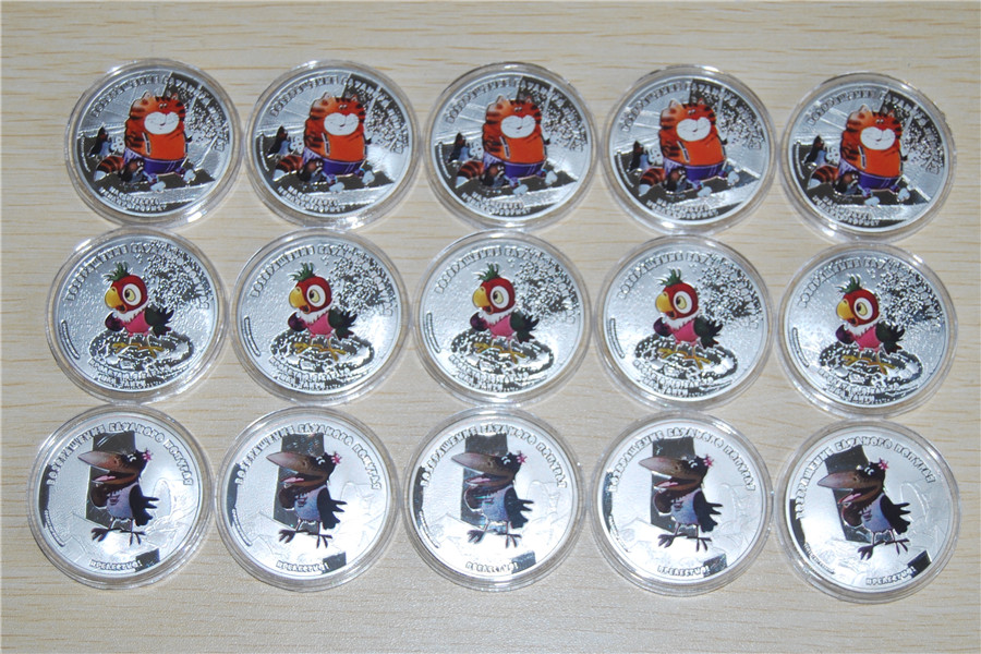 Cook Islands 2012-5$ Return of Prodigal Parrot Cat 1 Oz Silver Coin