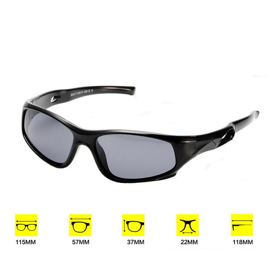 75b7eec17da3 Aliexpress.com : Buy NEWBOLER Cycling Glasses For Kids Outdoor Sports  Polarized Sunglasses UV400 Protection Children Goggles Boys Girls Eyewear  from ...
