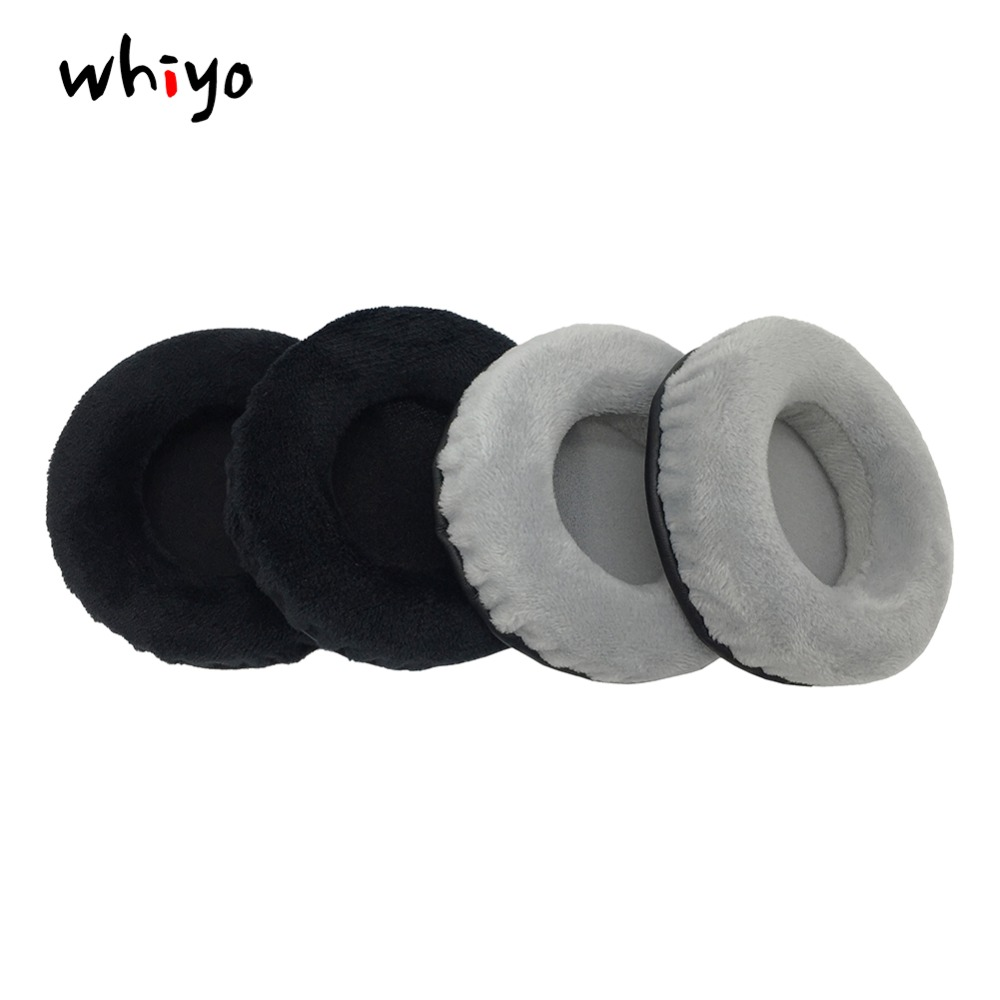 1 Pair of Ear Pads Cushion Cover Earpads Replacement Cups for Superlux <font><b>HD660</b></font> HD330 HD440 Pros Headphones image