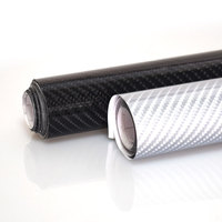 50x152cm Car Styling 5D Carbon Fiber Vinyl Film Motorcycle Car Accessories Car DIY Stickers Decals Waterproof