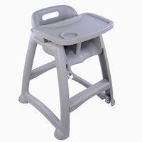 Пластиковый детский обеденный стул BB сиденье Ресторан ест стул детские детский, обеденный стол