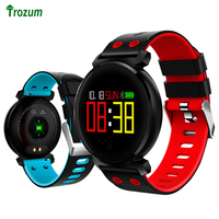 K2 Smart Bracelet Watch Blood Pressure Heart Rate Monitor Color Screen Fitness Band Waterproof SmartBand for ios android phone