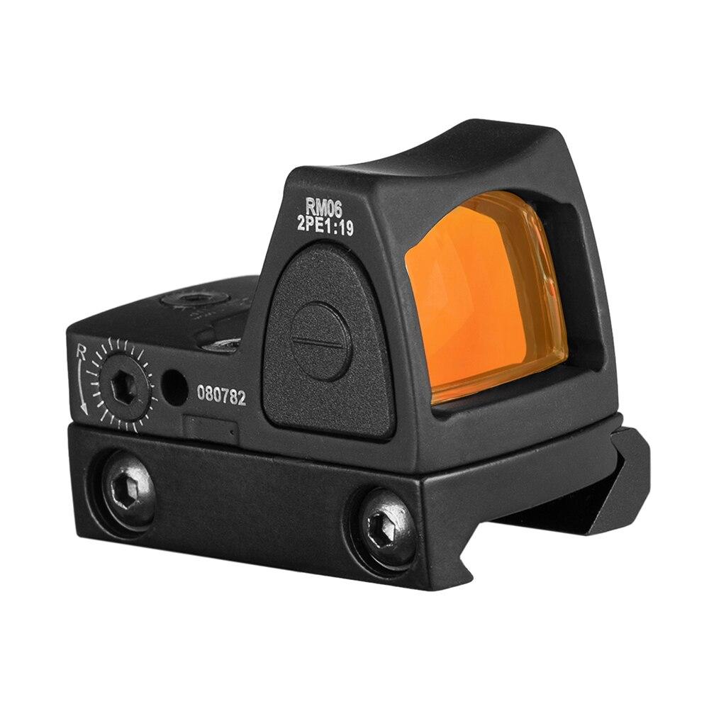 Image 3 - Hunting Glock Optical Micro Reflex Red Dot Sight Scope Riflescope Adjustable Brightness Rifle Scopes Airsoft Optics Sigh-in Riflescopes from Sports & Entertainment