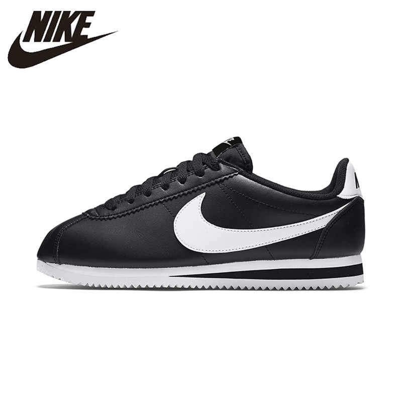 722c77571 Original New Arrival Official Nike Classic Cortez Waterproof Women s  Running Shoes Sports Sneakers Trainers