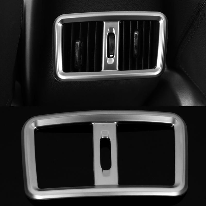 2016 Car Styling ABS Rear Outlet Decorative Frame Cover Sequin For Hyundai IX25 2014 -2016  Trim Decoration Trim Accessories for land rover discovery sport abs chrome rear reading lamp frame cover trim for jaguar f pace f pace car styling 2pcs set