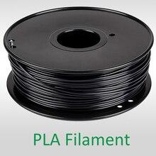 black filament Fast Cheap Delivery Within 7 Days Manufacturer 3D Printer Material 1kg 2.2lb 1.75mm 30% Carbon Fiber ABS Filament