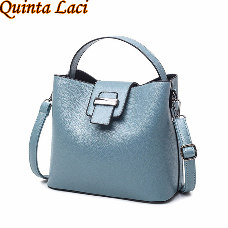 Quinta Laci Women bag 2017 New Summer Fashion Shoulder Bags Europen and American Style PU Leather Solid Zipper Women handbags beyerdynamic quinta mu 23