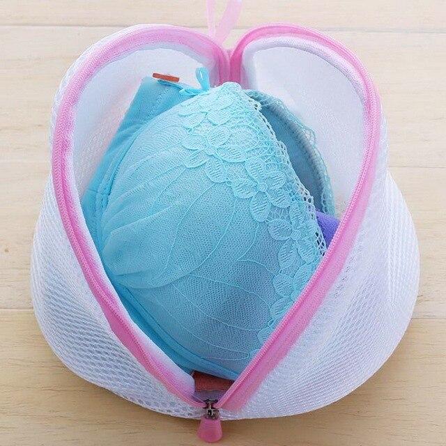 2019 katlanabilir fermuarlı örgü çamaşır yıkama torbaları Delicates Lingerie çorap iç çamaşırı çamaşır makinesi koruma ağı örgü çanta