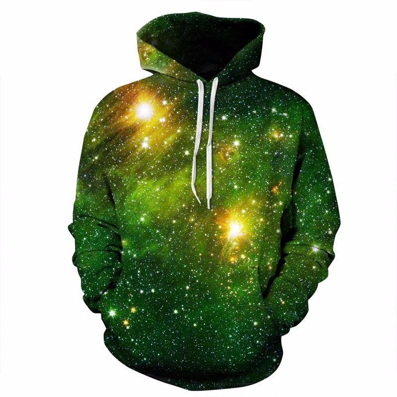 Space Galaxy 3d Sweatshirts Men/Women Hoodies With Hat Print Stars Nebula Space Galaxy Sweatshirts Men/Women HTB1R p