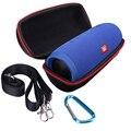 Zipper portátil viagem hard case bag protect capa titular bolsa box para cobrar 3 charge3 bluetooth speaker jbl acessórios