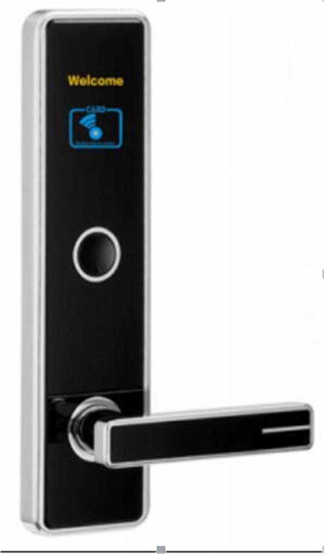 Swipe Card/Key Unlocking Hotel Access Control Lock unlocking the negawatt
