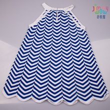2019 New style summer children girls cool dress cute baby birthday party school cotton princess clothes