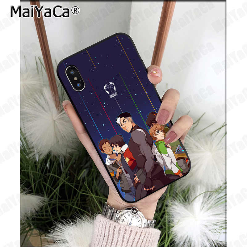 MaiYaCa Voltron Legendary Defender Lions Painted Soft Shell Phone Case for  Apple iPhone 8 7 6 6S Plus X 5 5S SE XS XR XS MAX