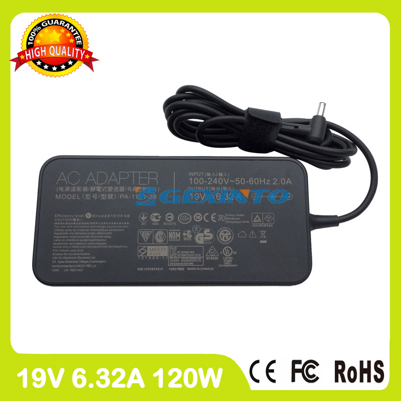 19V 6.32A ac power adapter PA-1128-26 laptop charger for Asus ROG Strix GL553VD GL553VE GL553VW GL702VM GL702VS GL702VSK GL702VT