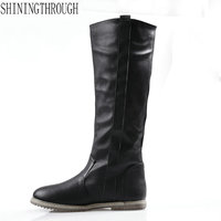 New Sexy Knee High Boot 2018 New Arrival Women Boots Flat Heels Boots Spring Autumn Boots