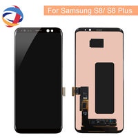 AMOLED Lcd For Samsung S8 G950F G950U G950 LCD Display Touch Screen Assembly Replacement Part For S8 Plus LCD G955 G955F Display