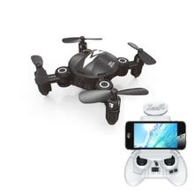 New Mini Foldable WIFI FPV remote control RC Drone XY008 2.4G 4CH 6Axis with 0.3MP WIFI camera Altitude Hold RTF RC quadcopter