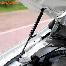 2 uds estilo de coche para Toyota Hilux 2005 2012 para cubierta de motor frontal resorte de puntal de barra hidráulica Shock Bar