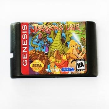 Dragon's Lair - Sega Mega Drive For SEGA Genesis