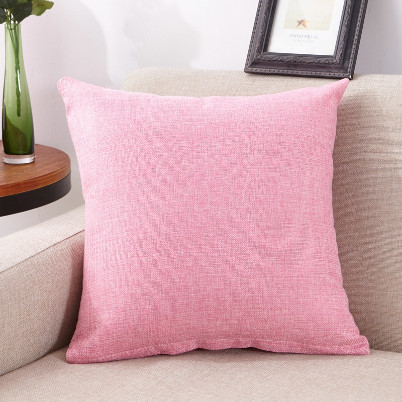 45x45cm New Soft Multicolor Choice Tailored Edge Poly Cotton European Cushion Home Decor