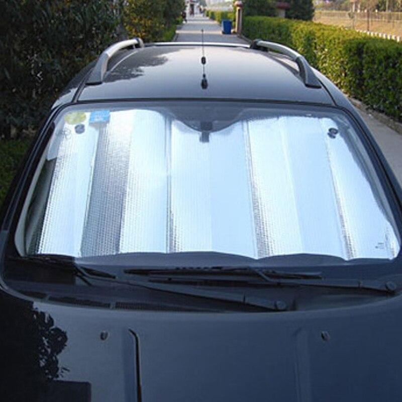 1PC 140*70 ซม.ด้านหลังด้านหลังรถกระจกบังแดดหน้าต่าง Sun Shade Visor สำหรับรถยนต์หน้าต่างอุปกรณ์เสริมอัตโน...
