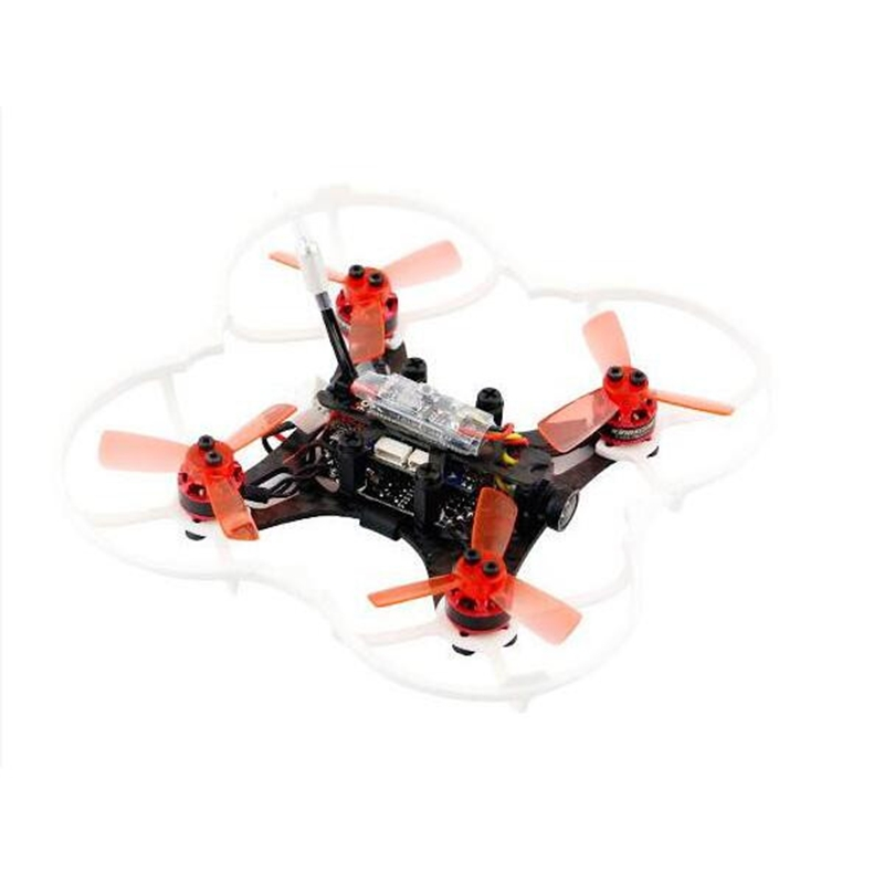 Hot Kingkong 90GT 90mm Brushless Mini FPV Racing Drone with Micro F3 Flight Controll 16CH 800TVL VTX RC Helicopter Drone rcmoy uav115 brushless micro fpv racing quadcopter drone f3 flight controll 800tvl vtx 10a esc tiny whoop blade inductrix