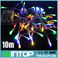 10M/80LEDs Mini LED String Light Fairy Lights Battery Power Operated for Christmas Holiday Party Wedding Garden Decoration