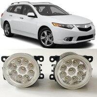 Car Styling LED Fog Light Lamp For Honda Accord Euro Acura TSX 2011 2014 9 Pieces