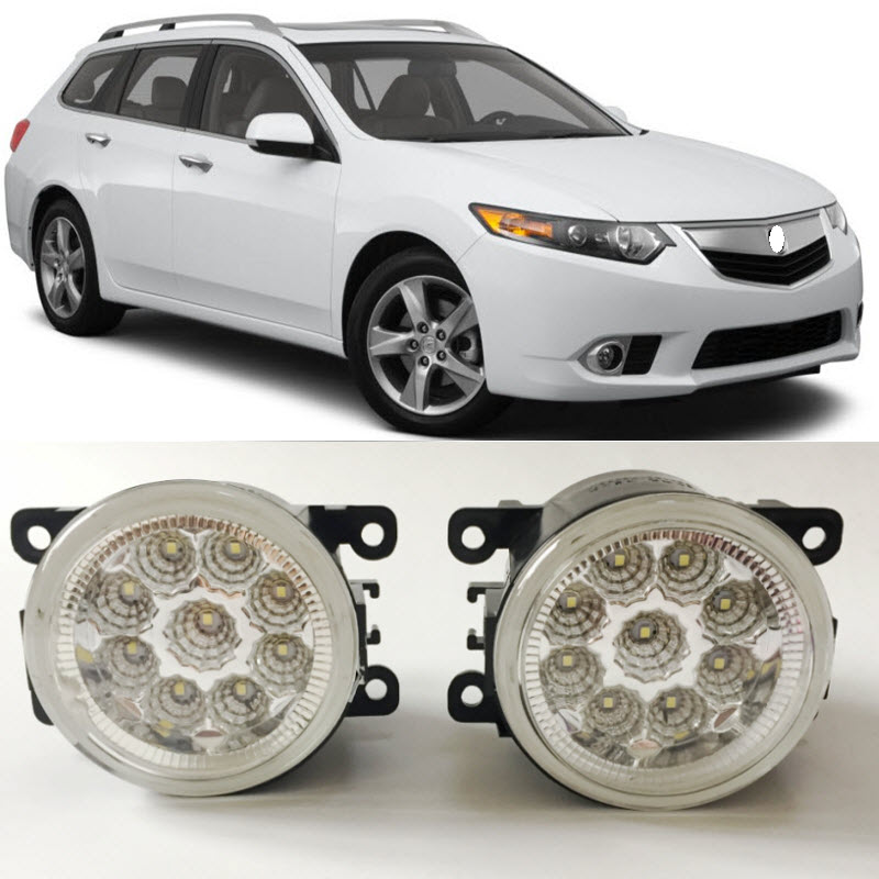 Car Styling LED Fog Light Lamp For Honda Accord Euro Acura
