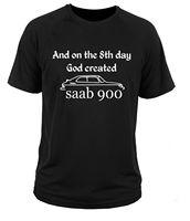 2017 New Arrivals Saab 900 3D Print Men S 100 Cotton Tee Shirt High Quality O