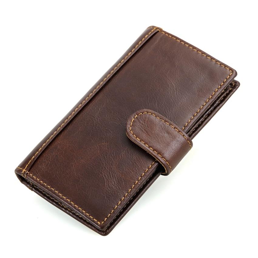 Lederen Heren Portemonnee Nieuw RFID Blocking Wallet For Men - Portemonnees en portefeuilles