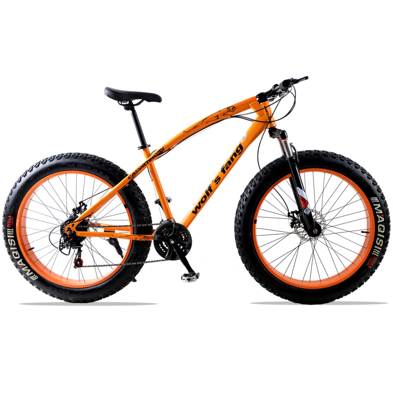 for Russia mountain bike 7/21speed bicycle 26x4.0 fat bike Spring Fork snow bike road bike Front and Rear Mechanical Disc Brake 1 pair mountain road bike hydraulic brake kit 750 1350 mm mtb bicycle over 395 447 oil disc brake set front and rear bike parts