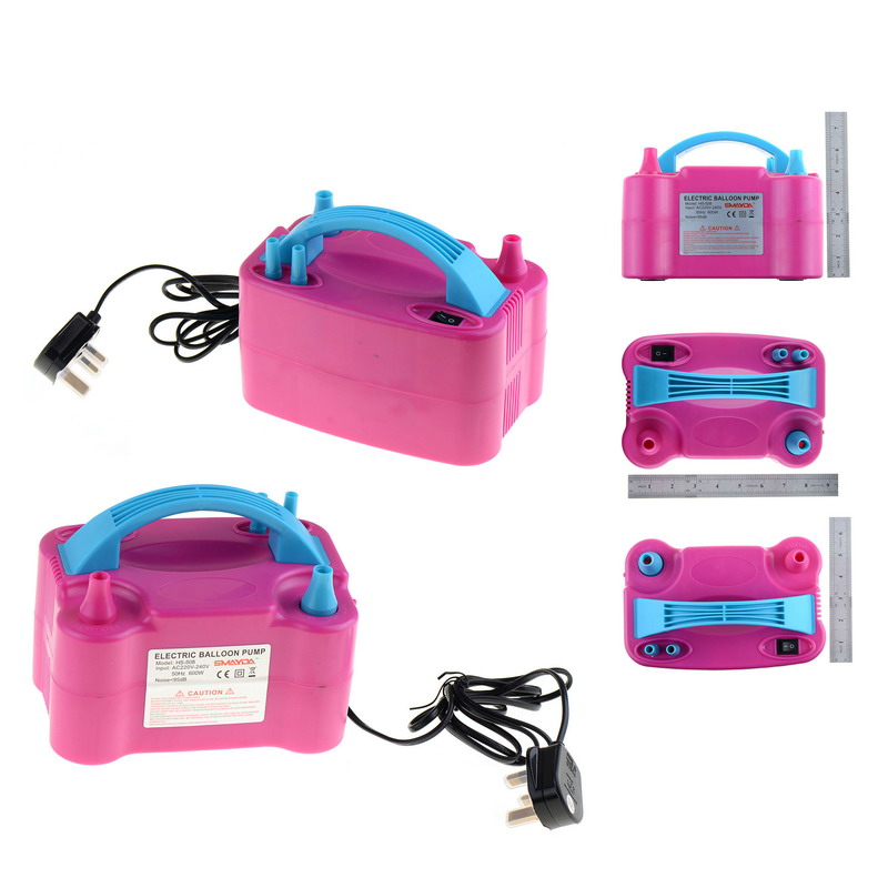 1 PC High Power Portable 240V Electric Air Blower Party Balloon Pump Inflator