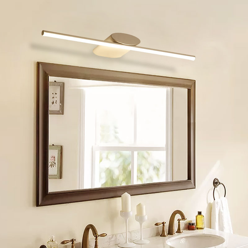 8W 12W 16W 20W 40CM 60CM 100CM stainless simple modern wall lamp light waterproof bathroom LED mirror light lamp sconce 40cm 12w acryl aluminum led wall lamp mirror light for bathroom aisle living room waterproof anti fog mirror lamps 2131